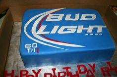 Budweiser cake By jesika3434 on CakeCentral.com