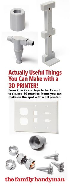 Actually Useful Things You Can Make with a 3D Printer