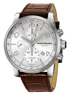 Mont Blanc Timewalker Stainless Steel Chronograph Watch, 43mm by Mont Blanc at Gilt
