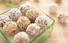 Havregrynskugler - Chokoladekugler