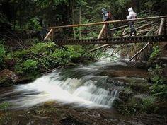 Výlet pro zdatné turisty v Jeseníkách - z Karlovy Studánky do Koutů nad Desnou Waterfall, City, Places, Trips, Outdoor, Inspiration, Viajes, Outdoors, Biblical Inspiration