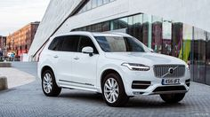 Volvo XC90 (UK-Spec) Inscription (Ice White) 2016