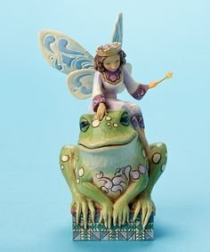 Take a look at this Have You Kissed a Frog Today? Figurine on zulily today!