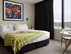 Just an drive from Melbourne city center The Larwill Studio features large shared areas contemporary suites. Art Series - The Larwill Studio Melbourne Australia D:North Melbourne R:Victoria hotel Hotels Melbourne Hotel, Melbourne Art, Melbourne Australia, Cosy Room, Art Therapy Projects, Art Projects For Adults, Art Series, Sweet Home, Interior Design