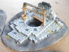 Empire of Ghosts: Frostwallon Terrain - Burnt Out Ruins Hirst Arts, Sculpting Tutorials, Game Terrain, Game Environment, Wargaming Terrain, Fantasy Inspiration, Dungeons And Dragons, Decoration, Board Games