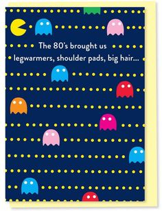 The 80's Brought Us Legwarmers and You Birthday Card Very Happy Birthday, Sister Birthday, It's Your Birthday, Birthday Cards, Funny Greetings, Funny Greeting Cards, Gifts For Your Sister, Bird Cards, Unusual Gifts