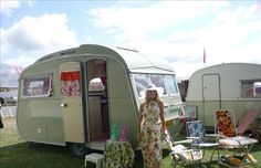 """1975 Carlight Casalette Caravan """"The Frilly Knicker"""" owned by Anna Bunting"""