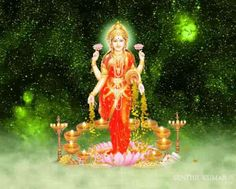 INDIAN GODS SCREENSAVERS: SHRI LAKSHMI