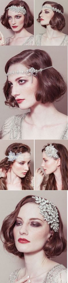 1920s Inspired Bridal Headwear - Plan with Fran, featured on hitched.co.uk