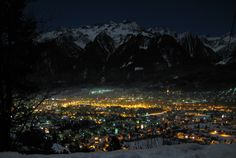 See 77 photos and 3 tips from 578 visitors to Bludenz. Austria, Mount Everest, The Good Place, Around The Worlds, Mountains, Night, City, Travel, Outdoor