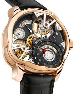 Invention Piece 2 Mechanical Skeleton Watch For Men