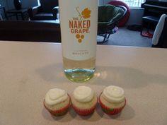 White Wine Cupcakes