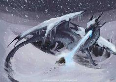50 Dragon & Dragon-Related Backgrounds - Imgur Ice Dragon, Baby Dragon, Dragon Art, Fantasy Creatures, Mythical Creatures, Dragon Medieval, Dragon Pictures, Cute Dragons, Fantasy Dragon