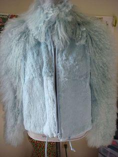 Damselle- Fur Jacket (BabyBlue) #Damselle #BasicCoat http://www.ebay.com/itm/161422190398?ssPageName=STRK:MESELX:IT&_trksid=p3984.m1558.l2649