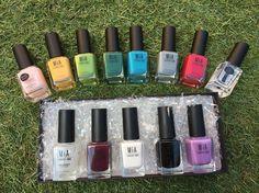 Ampliando la colección  @mialaurensparis #mialaurens #mialaurensparis #mialovesnails #100%recomendable #manicura #colores #manicure #colours #pintauñas #primavera #terraza #madrid #igersmadrid #igersspain #pictoftheday by anabecerrilblas