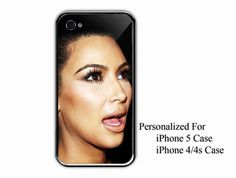 iPhone 4/4s Case  Kim Kardarshian Surprise Face  by NiceFaceShop, $15.00