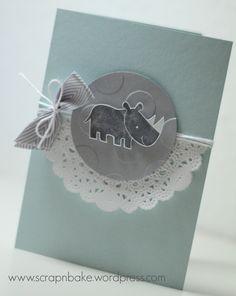 Stampin' UP! - Zoo Babies - Baby - Karte - Card