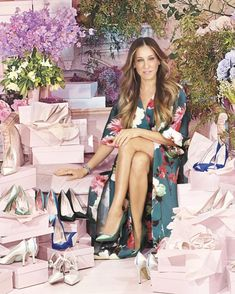 Sarah Jessica Parker Puts Her Best Foot Forward With Her New Collection of Shoes…