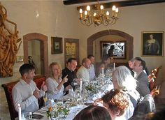 Geniessen in der Ritterstube - enjoying a meal in the Ritterstube