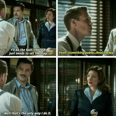 Agent Carter, Thompson and Howard Stark tumblr