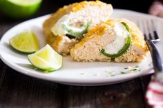 Jalapeño Popper Chicken with Quinoa {300 calories per serving}
