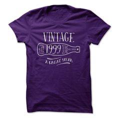 Vintage 1999 A Great Year - T-Shirt, Hoodie, Sweatshirt