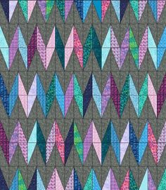 Lets Quilt Something: Chevy - Free Quilt Pattern - Layer Cake-Posted by Krystal Jakelwicz A new form of Chevron using half rectangles from layer cakes. Finished size is x Layer Cake Quilt Patterns, Layer Cake Quilts, Quilt Patterns Free, Layer Cakes, Free Pattern, Stencil Patterns, Quilting Tutorials, Quilting Projects, Quilting Designs