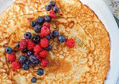 Maailman parhaat ohukaiset - Kokeile soveltaa :9 Pancakes, Breakfast, Ethnic Recipes, Food, Morning Coffee, Eten, Meals, Pancake, Morning Breakfast