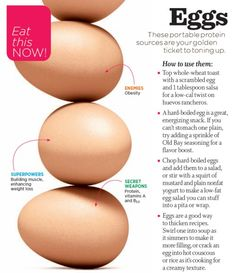 egg facts--Don't have time to cook them up, try CH(ips)!
