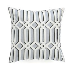 Studio Faves: Spring Throw Pillows. Greenbrier Dusk Pillow | We dialed up the proportions on this iconic trellis pattern for modern appeal and outlined the print with delicate shadow details to give this pillow extra pop. The pretty dusk hue will add quite beauty whether you place this pillow on the sofa, accent chair or bed.