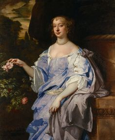 Sir Peter Lely - Portrait of Lady Penelope Spencer