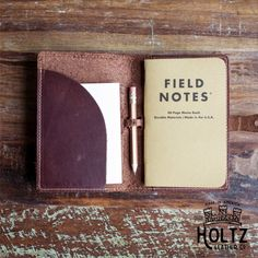 main field notes cover