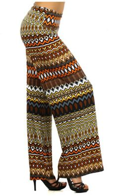 New Cali West Trendy Wide Leg Fold Over Waist Tribal Aztec Print Palazzo Leggings https://www.etsy.com/listing/176617802/new-cali-west-trendy-wide-leg-fold-over #Palazzo #Leggings #Fashion #Trendy