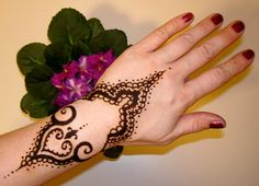 Simple Mehndi Designs 2013