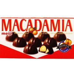 Meiji Macadamia Nut Chocolate 67g, 9 chocolates