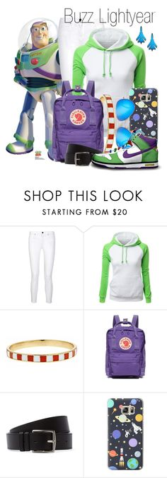 """Toy Story Disneybound"" by maia-lh46 ❤ liked on Polyvore featuring dVb Victoria Beckham, Fornash, Fjällräven, Hermès, Casetify, Ray-Ban and NIKE"