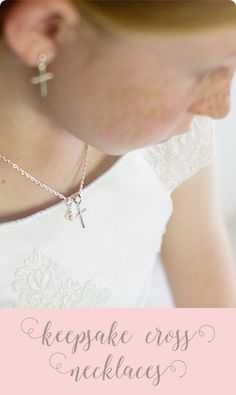 Beautiful, simple, silver cross necklaces for girls - perfect for layering. Celebrate her Christian faith with her very own cross necklace accented with a real fresh water pearl charm. Adjustable to grow with her through the years. Girls Necklaces, Cross Necklaces, Pearl Necklaces, Pearl Jewelry, Silver Bracelets, Junior Bridesmaid Gifts, Mrs Necklace, Unique Gifts For Girls, Flower Girl Gifts