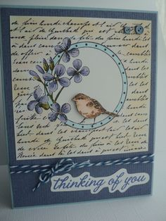 Hey, I found this really awesome Etsy listing at https://www.etsy.com/listing/182498135/handmade-thinking-of-you-card-hand