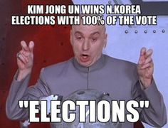The Dear leader has gained another victory!