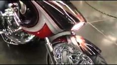 Twin engine 124's bagger by Cory Ness of Arlenn Ness Motorcycles video by John Shope of Dirty Bird Concepts