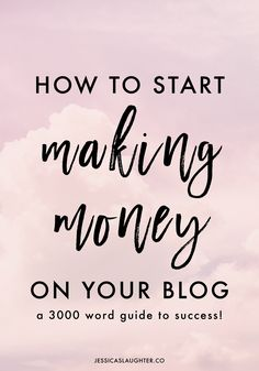 Everything I've learned about making money blogging on my journey to 100k monthly views is packed into this huge, super detailed post filled with helpful tips for blogs of any size!