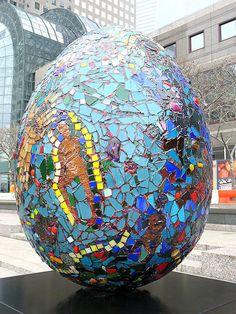 The Fabergé Big Egg Hunt, New York City, 2014.