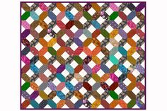 A Hugs and Kisses quilt pattern that's so easy you'll want to make a quilt for all of your family and friends. Go scrappy or create a theme.