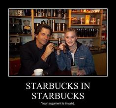 Dirk Benedict with Katee Sackhoff who each played Lt. Starbuck in  Battlestar Galactica,