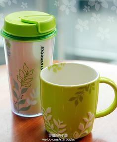 Starbucks Coffee Cups, Tea Cups, Nespresso, Painted Mugs, Coffee Company, Starbucks Coffee, Mocha, Latte, Tableware