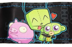 Gir and Domo | ... invader zim gir and friends seat covers 2 and steering wheel cover gir