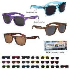 8cd5424dc2b Malibu Sunglasses  6223 • Made Of Polycarbonate Material • UV400 Lenses  Provide 100% UVA
