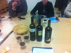 Los vinos de Marqués de Terán estuvieron presentes en este curso de iniciación a la cata impartido por Almudena Pérez, de CatayVino en el Centro Cultural Los Pinos (Alcorcón, Madrid).