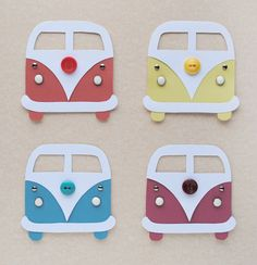 Volkswagen Inspired Bus Card DIY VW Bus Card - cute invite idea for a casual / hippie wedding Vw Bus, Diy And Crafts, Arts And Crafts, Paper Crafts, Ra Door Tags, Ra Themes, Door Decks, Tarjetas Diy, Resident Assistant