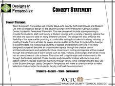 Concept Statement Interior Design Examples